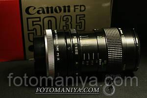 Canon nFD 50mm f3,5 Macro