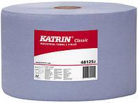 Протирочная бумага Katrin Classic L 3 Blue laminated 500 отрывов