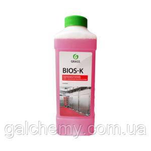 Высококонцентрированное щелочное средство Bios K (канистра 1 л) Grass TM