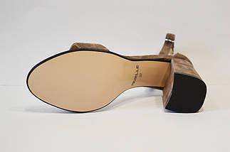 Замшеві босоніжки візон Nivelle 1847, фото 3