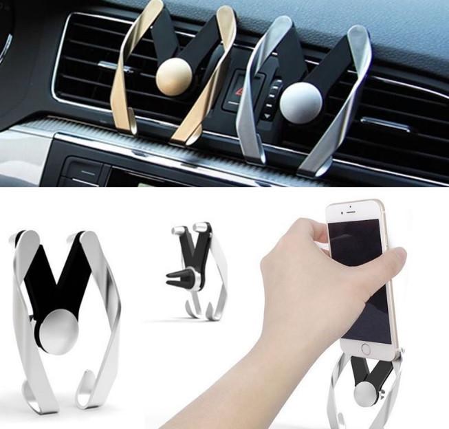 Автодержатель универсальный для телефона на решетку Nice Car Mount Holder