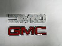 Надпись GMC  120х27 мм