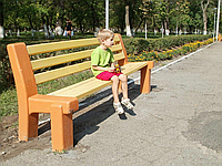 """Скамейка """"Городская"""". Лавочки бетонные Днепропетровск. В наличии и под заказ от производителя."""