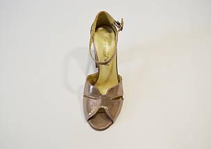 Босоножки кожаные визон Nivelle 1804, фото 3