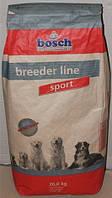 Корм Bosch (Бош) Breeder line Sport  для собак с высоким уровнем активности  20 кг