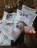 Комплект постельного белья Karaca Home Ashley белый