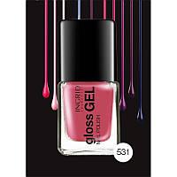 Лак для ногтей розовый Gloss Gel