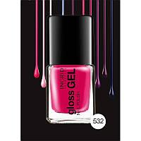 Лак для ногтей ярко-розовый Gloss Gel