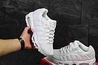 Кроссовки Nike Air Max 95 белые ( Реплика ААА+), фото 1