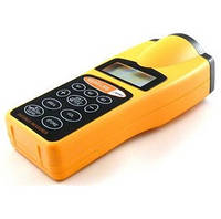 Дальномер cp-3007, ультразвуковой, с лазерным указателем, расчет площади, метры/футы, автоотключение, крона 9в