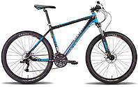 "Велосипед 26"" PRIDE XC-350 рама - 17"" 2014 черно-синий матовый"