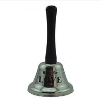 Колокольчик LOVE (серебро)