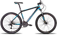 "Велосипед 26"" PRIDE XC-350 рама - 21"" 2014 черно-синий матовый"