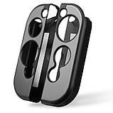 Чехол-накладка для Nintendo Switch метал + матовый пластик / Стекла /, фото 6
