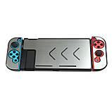 Чехол-накладка для Nintendo Switch метал + матовый пластик / Стекла /, фото 7
