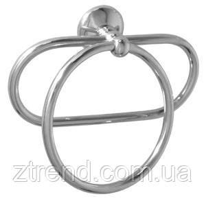 Вешалка кольцо двойное комбинированная