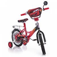"""Детский двухколесный велосипед Mustang """"Тачки"""" Cars  (14 дюймов)***"""