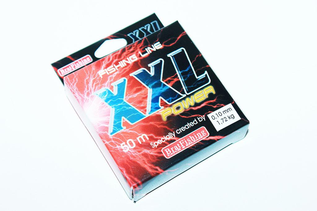 Леска XXL Power BratFishing 50 м. (0.10 мм.)