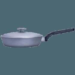 Сковорода литая алюминиевая с утолщенным дном 28 см Talko
