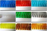 Стільниковий полікарбонат POLICAM кольоровий 4 мм 2,1*6м, фото 2