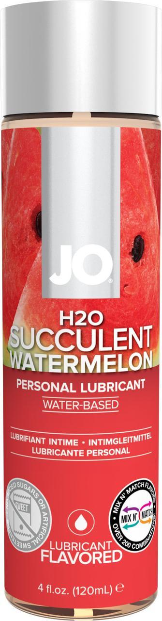Лубрикант для орального секса JO H2O Lubricant watermelon 30/120 мл