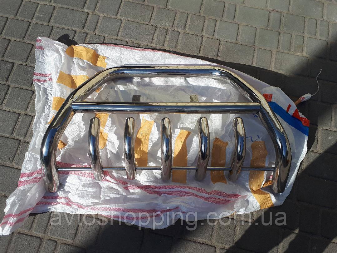 Кенгурятник, дуга, Защита переднего бампера TOYOTA Prado 120