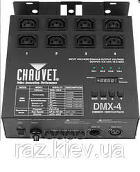 4-канальный диммер/реле CHAUVET DMX-4LED