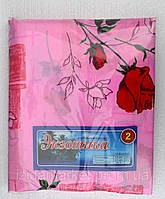 Розовое постельное белье из дешевой бязи полуторное