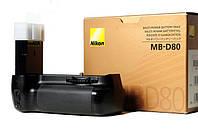 Батарейный блок (бустер) MB-D80 для NIKON D90, D80, фото 1