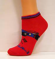 Летние детские носки с машинкой