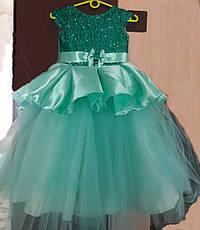Детское нарядное бальное платье на праздник на 6-7 лет., фото 2