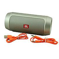 Водонепроницаемая JBL Charge 2 Plus портативная Bluetooth колонка Серый