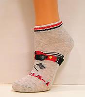 Детские низкие носки с машинкой