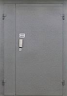 Металлические двери с кодовым механическим замком