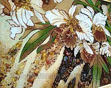"""Картина """"Дикая орхидея"""" из янтаря - эксклюзивный подарок, фото 2"""