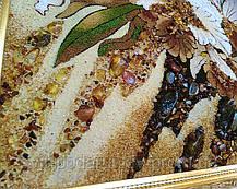 """Картина """"Дикая орхидея"""" из янтаря - эксклюзивный подарок, фото 3"""