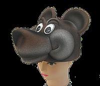 Маска-шляпа Медведь мишка
