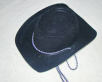 Шляпа Ковбоя детская (черный)