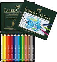 Набор акварельных карандашей Faber- Castell Albrecht Durer 24 цвета в металлической коробке, 117524