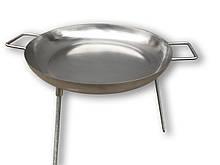 Сковорода для пикника из нержавеющей стали 45 см
