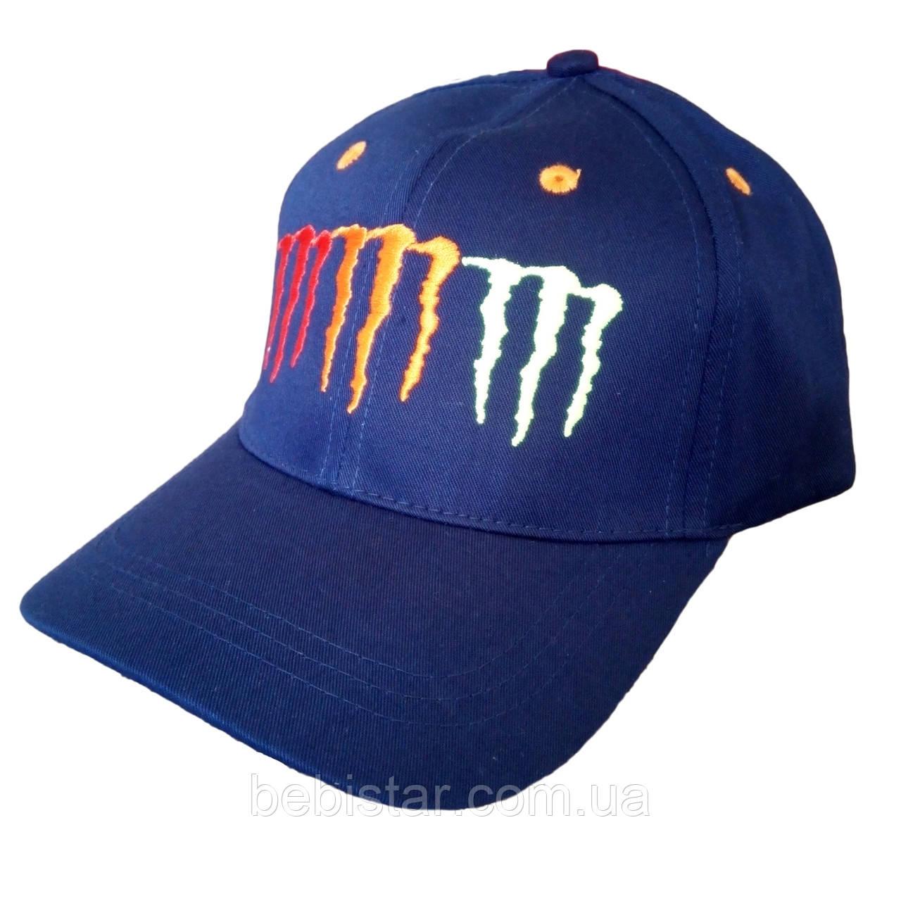 Кепка бейсболка синяя для мальчика