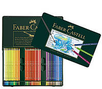 Набор акварельных карандашей Faber- Castell Albrecht Durer 60 цветов в металлической коробке, 117560