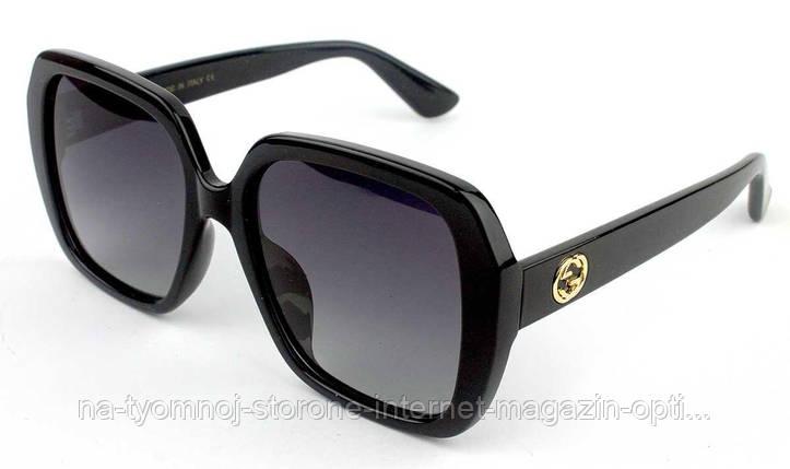 1a50c8efcec6 Солнцезащитные очки Именные (Gucci) (polarized) GG0096SA-001 реплика, фото 2