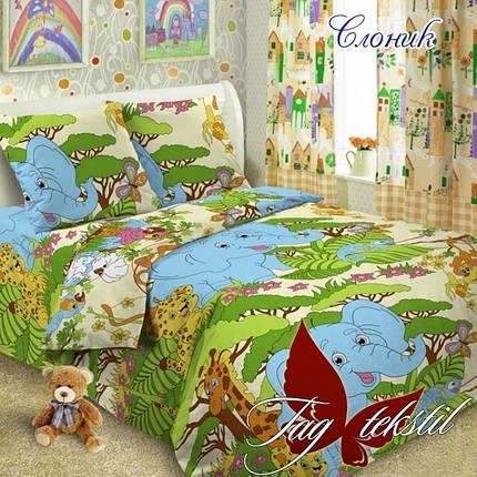 Постельное белье для детей ТМ ТАG/1.5-спальные Слоник, фото 2