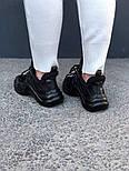 Кроссовки Louis Vuitton Archlight sneakers Triple black. Живое фото. Топ реплика ААА+, фото 3