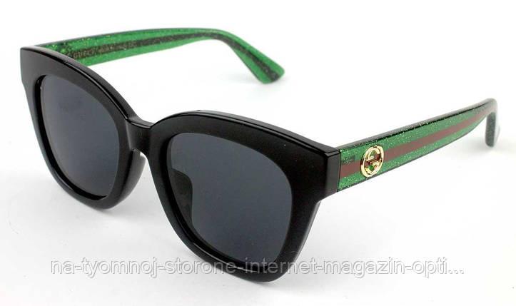 b32812a6f1f4 Солнцезащитные очки Именные (Gucci) (polarized) GG0036SA-003 реплика, фото 2