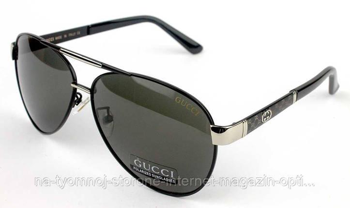 379fa6481f47 Солнцезащитные очки Именные (Gucci) (polarized) GG10007-1 реплика, фото 2