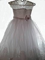 Детское нарядное выпускное бальное платье на 5-7 лет