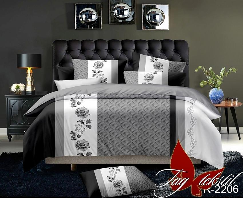 Постельное белье ТМ TAG/1.5-спальные/Ренфорс R2206
