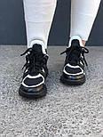 Кроссовки Louis Vuitton Archlight sneakers black/white. Живое фото. Топ реплика ААА+, фото 2